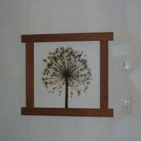 Cadre et tableau réalisés par Anthony Hautbois de Bois et Fer Création